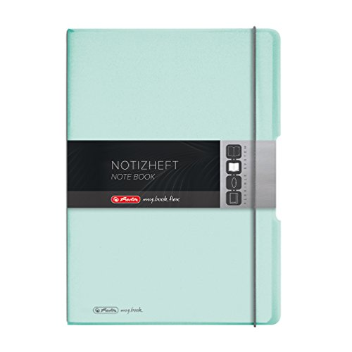 Herlitz Notizheft (A4, PP-Wechselcover, 80g/m²)