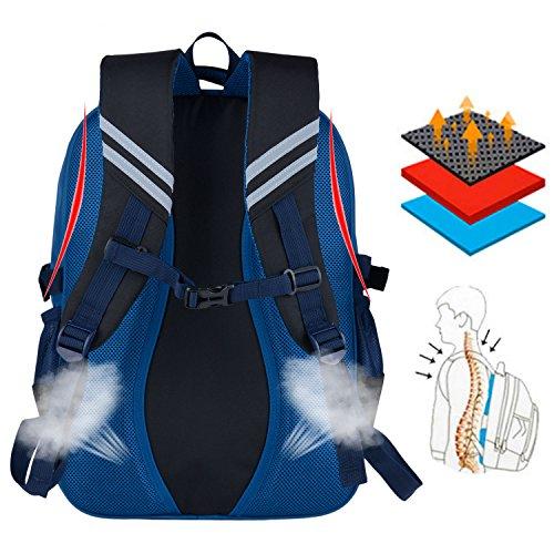 Schulrucksack, Coofit Kinderrucksack Daypack Schultasche Grundschule Backpack Schulranzen für Mädchen Jungen Teenager Jugendliche - 5