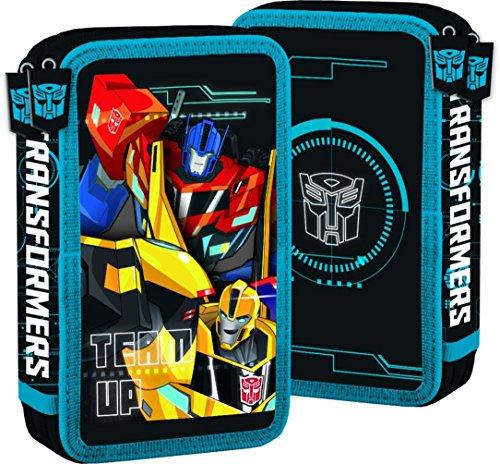 Familando Transformers Schulranzen Set 21tlg. mit Federmappe, Große Sporttasche und Schultüte 85cm PL - 3