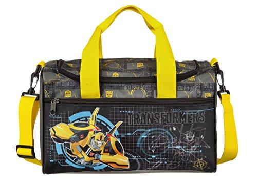 Familando Transformers Schulranzen Set 21tlg. mit Federmappe, Große Sporttasche und Schultüte 85cm PL - 4