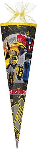Familando Transformers Schulranzen Set 21tlg. mit Federmappe, Große Sporttasche und Schultüte 85cm PL - 5
