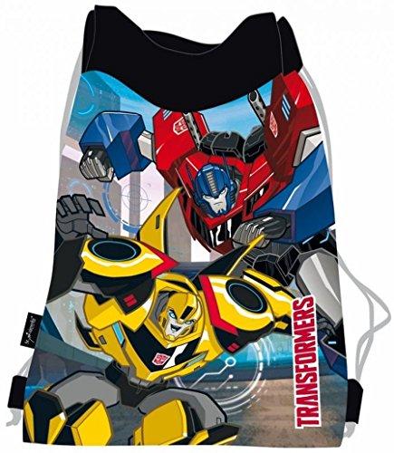 Familando Transformers Schulranzen Set 21tlg. mit Federmappe, Große Sporttasche und Schultüte 85cm PL - 7