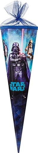 Familando Star Wars Schulranzen Set 17tlg. mit großer doppel Federmappe gefüllt 48-tlg., Regen-/Sicherheitshülle, Sporttasche, Schultüte 85cm, Dose und Trinkflasche schwarz - 7