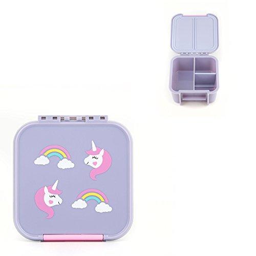 Little Lunch Box Co. Mini Snackbox für Kinder (Einhorn)