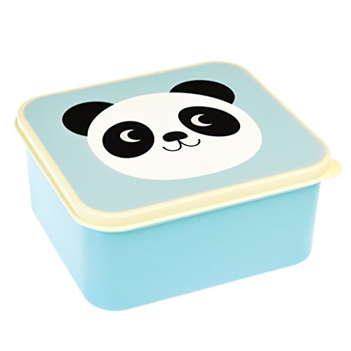 Butterbrotdose Mika the Panda, blau