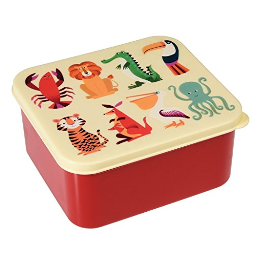 Lunchbox Bunte Tiere