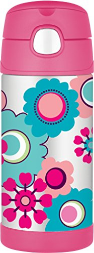 Thermos Floral Funtainer Trinkflasche 355 ml Pink