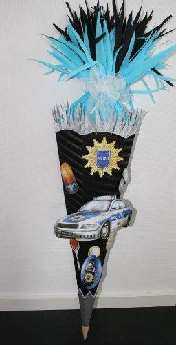 Bastelset Schultüte Polizei mit 3-D XXL Motiven