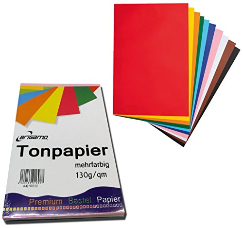 200 Blatt Tonpapier Bastelpapier A4