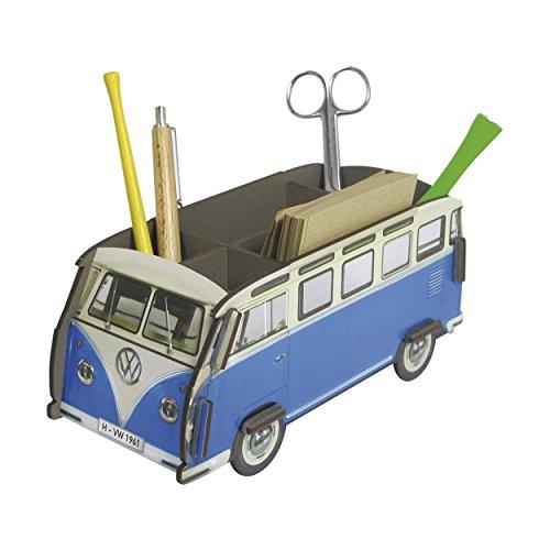 Werkhaus Stifthalter VW Bus T1,Blau