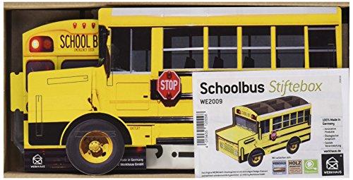 Werkhaus Stifthalter American School Bus