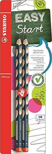 Stabilo Dreikant-Bleistift für Rechtshänder, petrol, HB