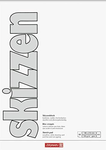 Brunnen 1047555 Zeichen-Skizzenblock A5