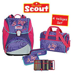 Scout Schulranzen Set Alpha 4tlg - Savage