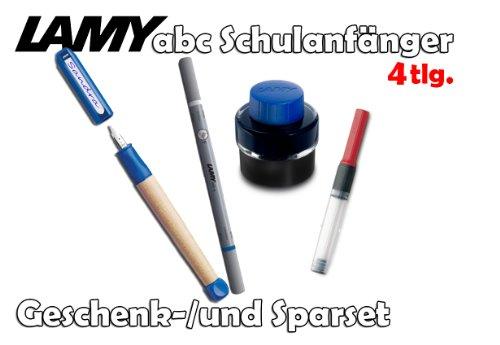 LAMY abc Schulanfänger Füllfederhalter Linkshänder