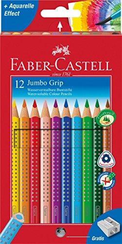 Faber-Castell Farbstift Jumbo Grip Kartonetui 12er