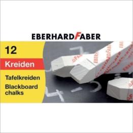 Faber-Castell Kreide 525000 Weiß 12 Stück