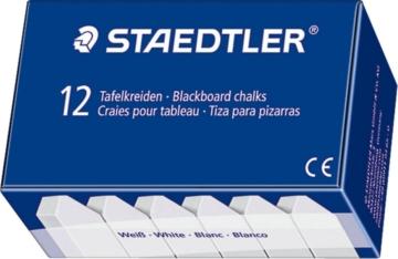 STAEDTLER Kreide 2350 Weiß 12 Stück