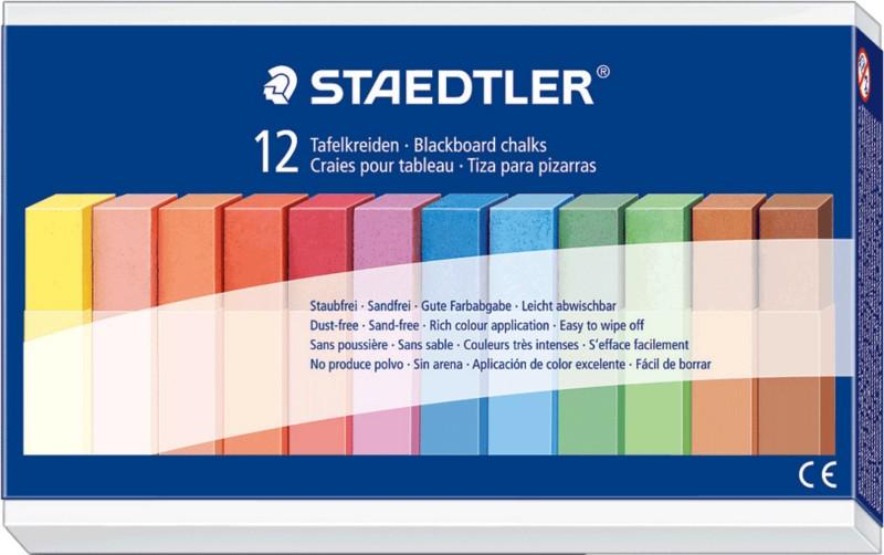 staedtler kreide 2360 farbig sortiert 12 st ck schulen. Black Bedroom Furniture Sets. Home Design Ideas